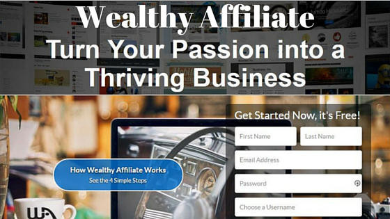 Wealthy Affiliate: Turn Your Passion Into A Business